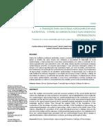 CUENIN, P.; BOTELHO, M.; SANTOS, D. et al. A Transição para um Sistema Agroalimentar mais Sustentável_O Papel da Agroecologia e suas Mudanças Epistemológicas