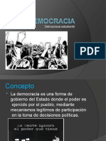 8. LA DEMOCRACIA