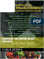 Handbook for Raising Healthy Black Children (Infants to Teenagers)