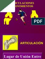 Articulaciones