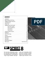 Manual de usuario de la mezcladora spirit E8 (Ingles).pdf