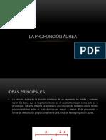 3. LA PROPORCION AUREA EN ARQUITECTURA