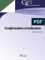 Confirmation et induction