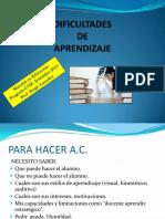 3 Dificultades de Aprendizaje_Procesos y Características