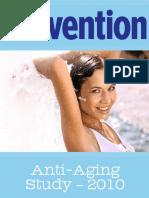 Prevention Magazine Anti-Aging Report