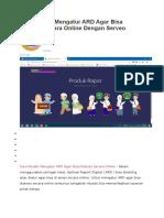 Cara Mudah Mengatur ARD Agar Bisa Diakses Secara Online Dengan Serveo