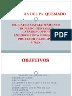 QUEMADURAS cirugía plástica