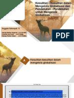 MOG - Kesulitan - Kesulitan dalam Mengelola Globalisasi dan Pendekatan - Pendekatan untuk Mengelola Globalisasi