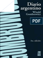Gombrowicz Witold - Diario Argentino