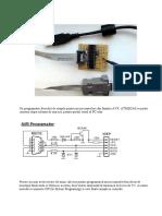 Program at Or ISP Cu PoniProg