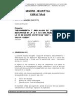 Estructuras M. Descriptiva Huatta