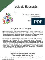 sociologia revisão NTI