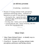 Value Delivery Process