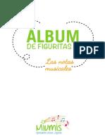 Album Notas Musicales