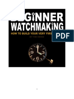 Beginner Watchmaking