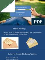 Unit VI RS Letter Writing Final