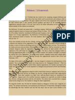 Mckinsey 7 S Framework