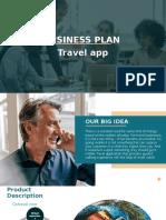 TRAVEL APP BUSINESS PLAN