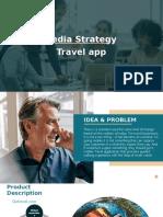 TRAVEL APP Media Strategy