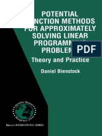 Potential Function Methods for Approximately Solving Linear Programming Problems Theory and Practice by Daniel Bienstock (auth.) (z-lib.org).pdf