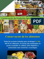 exponer inenieria agroindustrial (conservación de alimentos)