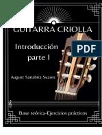 guitarrra criolla introduccion
