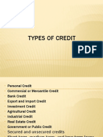 Types of credit BSBA 3B, GROUP 2