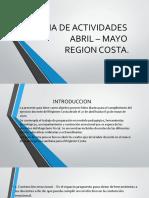 GUIAS DE ACTIVIDADES.COSTA-MAYO.