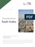 Doing Business in Saudi Arabia