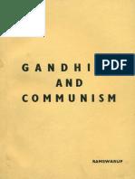 7. Gandhism and communism principles and technique