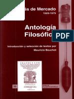 Mercado, Tomás de - Antología filosófica.pdf