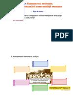 FISA - Economie și societate. Urmările instaurării suzeranității otomane