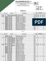 MK10-02a Packing List