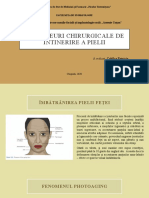 Chirurgie plastică OMF - procedeuri chirurgicale de reîntinerire