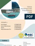 Kelompok 4 pemeliharaan pabrik PT Asahmias Chemical
