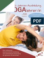 2-Jahres-Ausbildung Yogalehrer