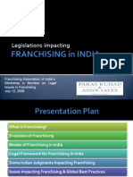 Laws Affecting Franchising in India