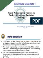 Design1 Lesson 8- Economic factor in design 2