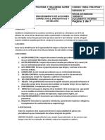 PROCEDIMIENTO DE ACCIONES CORRECTIVAS,PREVENTIVAS Y DE MEJORA