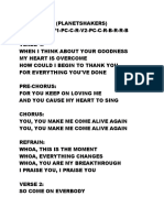 ALIVE AGAIN - Planetshakers.docx