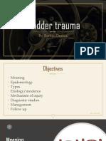 bladder trauma ppt