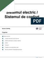 01 Sistemul electric si de confort
