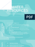 Water Resources Business Plan by Slidesgo