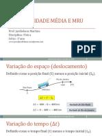 Cópia de Aula 01-1ano Velocidade Media e MRU.pdf