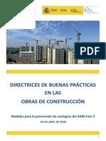 buenas prácticas en obras de construcción 26.04.20