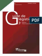 Guide Legistique2017 France