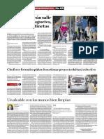 Niños No Podrán Salir a Pasear Con Juguetes, Triciclos Ni Patinetas