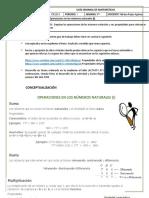 Matemáticas Ciclo 3 Periodo 01 Semana 7