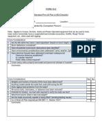 Standard Lift Plan Form 16-2 Fillable