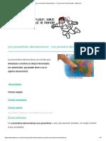 Los pronombres demostrativos - Les pronoms démonstratifs - sjbfrances.pdf